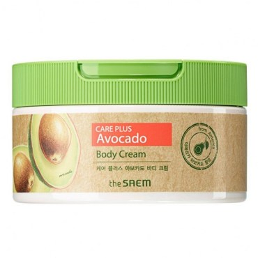 the-saem-care-plus-avocado-body-cream